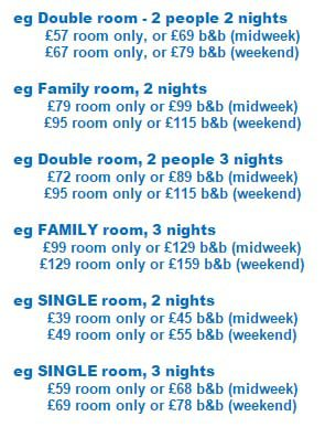 Pier View Hotel Blackpool Prices